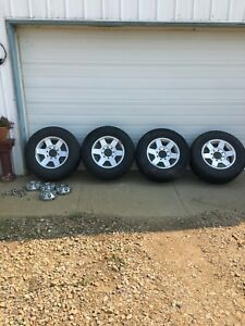 Dodge 2500 stock. Rims