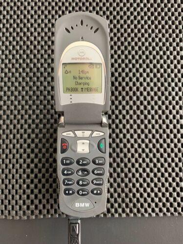 BMW Motorola V60 V60s H/W 4.0 CDMA Flip Cell Phone Classic Vintage Cellphone T7