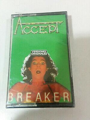 Accept Breaker Musical Heavy Metal - Cinta Cassette Nueva