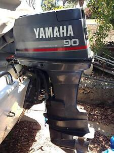 """YAMAHA Outboard 90HP 2Stroke 25"""" North Beach Stirling Area Preview"""