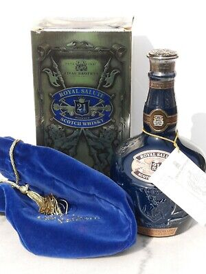 CHIVAS REGAL Royal Salute 21 Y. Old SCOTCH WHISKY 70cl 40% Distilled ca. 1975