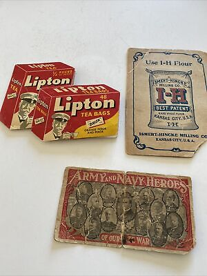 3 Vintage Advertising Needle Cards