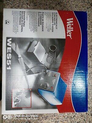 Weller Wes51 Analog Soldering Station Brand New Unopened Box