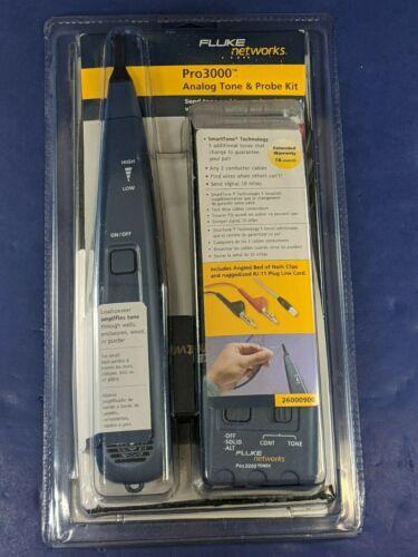 Brand New Fluke Pro3000 Probe and Toner Kit
