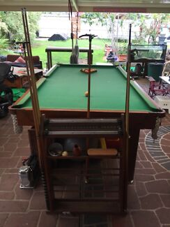 Pool table billiards Kelly pool PRICE LOWERED
