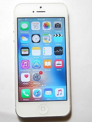 New In Box Apple iPhone 5 16 GB White Factory GSM Unlocked for ATT T-Mobile