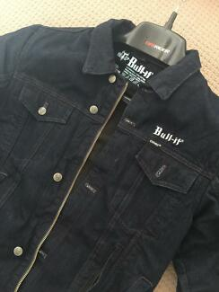 MOTORCYCLE JACKET BULL-IT KEVLAR-DENIM WITH ARMOUR-BRAND NEW size