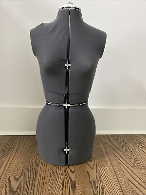 Adjustable Dress Form 13 Dial Sewing Fabric Mannequin Torso No Stand Female