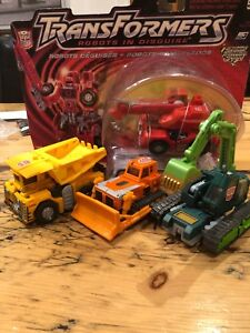 Transformers complete rid robots in disguise landfill