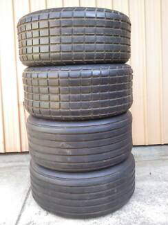 4 x Sand Tyres 10ply Alliance Floatation 11L-15 Off road use