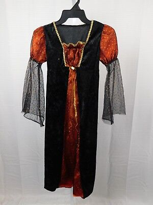 Girl's Lace Glitter Witch Halloween Cosplay Costume Dress Medium - Glitter Witch Girl