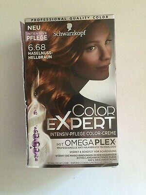 Color Expert Nr. 6.68 Haselnuss-Hellbraun, Schwarzkopf, Haarpflege