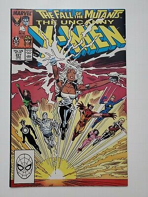 The Uncanny X-Men Comic Book #225 Marvel Comics 1988 NEAR MINT NEW UNREAD