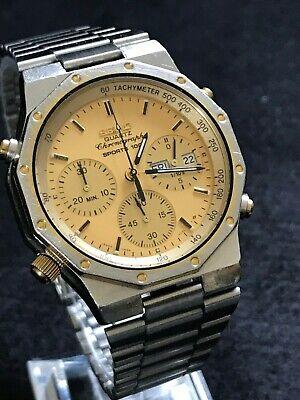 "Seiko 7A38-702A ""Royal Oak' quartz chronograph, 1984, full working order"
