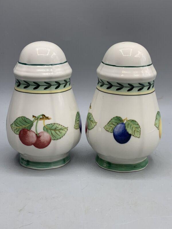 Villeroy & Boch French Garden Fleurence Salt & Pepper Shakers