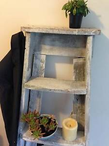 Original wooden painting ladder white Cronulla Sutherland Area Preview