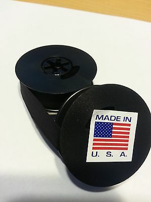 Universal Typewriter Ribbon Twin Spool Black Ink 12 Cloth Ribbon - New Unused