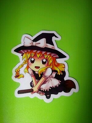 Anime Witch Chibi DieCut Vinyl Sticker Cute Halloween - Halloween Chibi