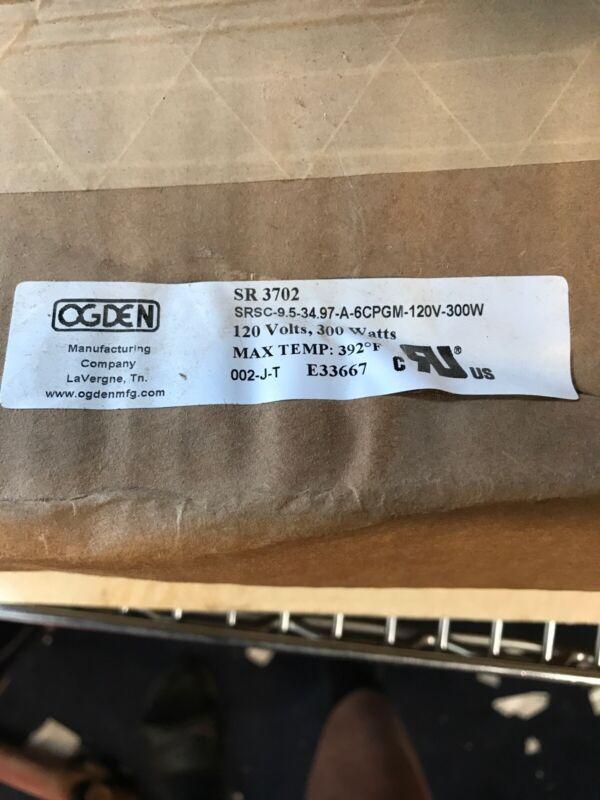 Ogden SR3702 5 Gallon Plastic Drum Heater 120V 300 W Max temp 392deg