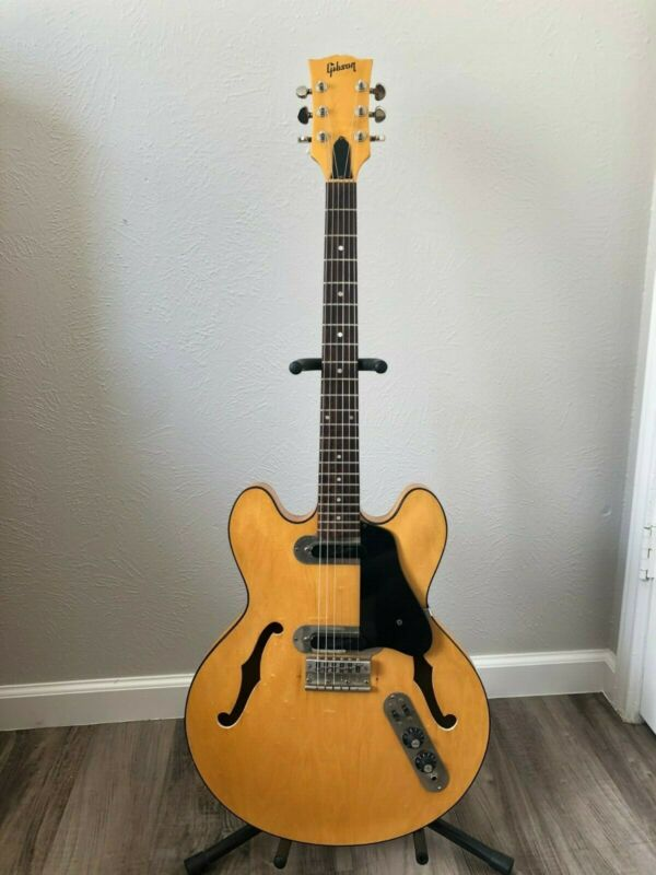 1972 Gibson ES-320 Semi-Hollowbody Maple Natural Finish