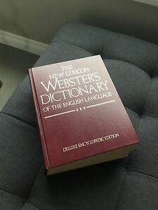 Vintage Webster's dictionary of the English language