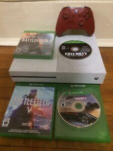 2 month old Xbox one s 1tb 4 games 1 controller