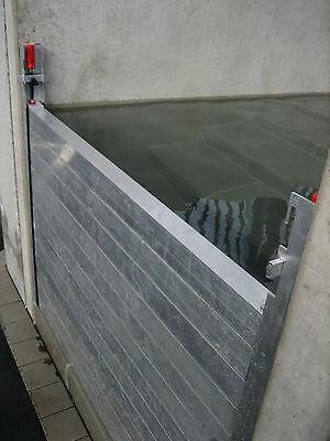 Hochwasserschutz Aluminium Dammbalken mobiles System