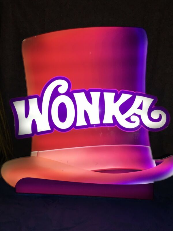 Willey Wonka Hat Casino Slot Machine Topper Collectible Item Must See Wow