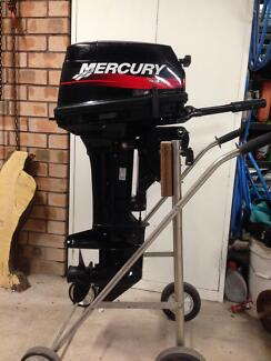 15hp mercury super outboard Elec and pull start