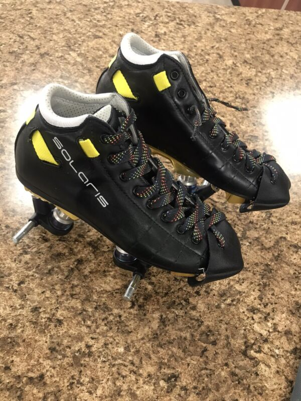 Riedell Solaris Boots With Pilot Falcon Plus Plates (Roller Blade Boots)