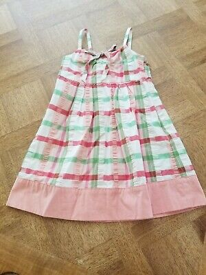 JUICY COUTURE KIDS- Plaid Sun Dress w/Gold J Side Zipper-Girls Size  4  (Couture Childrens Dresses)
