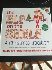 Elf on the shelf (Girl) like new (book is missing)