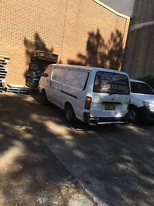 Van ready to work for sale 10 months rego Bankstown Bankstown Area Preview