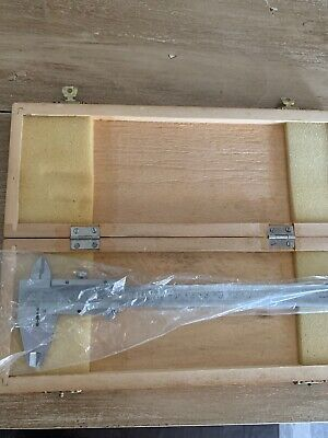 Central Forge 0-150mm 6 Caliper Model 940 In Wooden Box