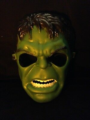 Super Scary Costumes (Scary Super Hero Avenger Halloween Mask Incredible Hulk Kid Costume Cosplay)