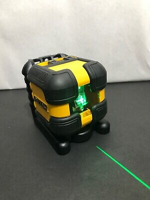 Dewalt Dw08802cg Cross Line Laser Lavel New