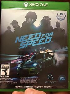 Need For Speed For Xbox One. Like New