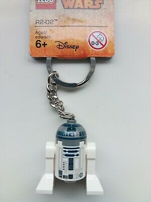 GENUINE LEGO STAR WARS R2-D2 MINIFIGURE KEYRING