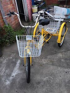 Sale: Trike bike adult tricycle 24'' aluminum 3 wheels Mulgrave Monash Area Preview