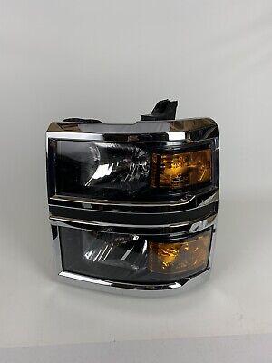 2014 2015 Chevrolet Chevy Silverado Left Driver Side Headlight OEM 14 15 LH