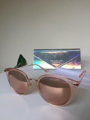 [VEDI BY VEDI VERO] VJ127 Pink Half Mirror Sunglasses (Vedi Vero Sunglasses)
