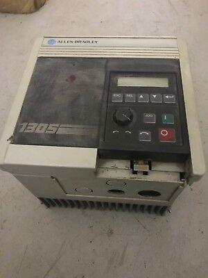 Allen Bradley Ac Variable Speed Drive 1305-ba09a 1305-ba09a 5 Hp Ser. C