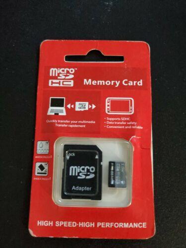 Mini SD Card 128GB Class 10 micro sd With Adapter