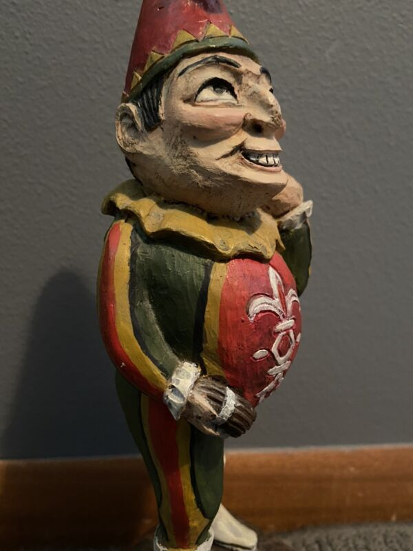 Rare Cigar Store Indian Punch Pete Wing Folk Art Collection Tobacco Advertising