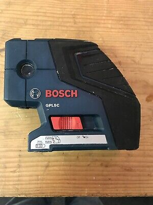 Bosch GPL5C Cross Point Technology 5-Point Self-Leveling Laser
