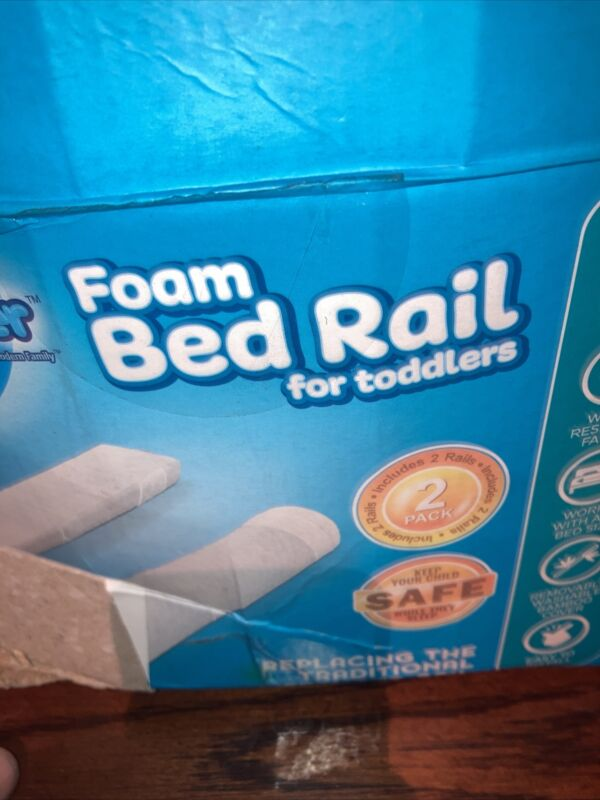 BuBumper Foam Bed Rail for Toddlers 52in Long Ultra Care