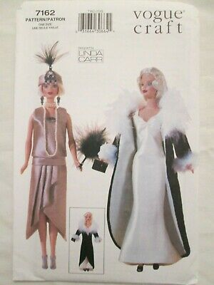 1920s Style Outfits (Vogue 7162 Linda Carr 11.5