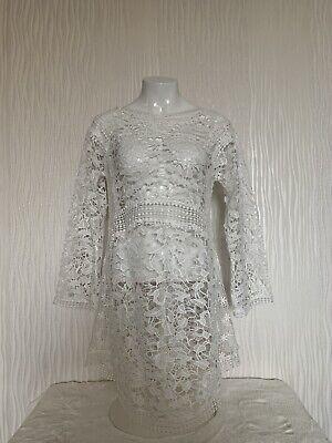 Weißes Strandkleid aus Spitze von Hunkemöller Doutzen Gr. M NEU