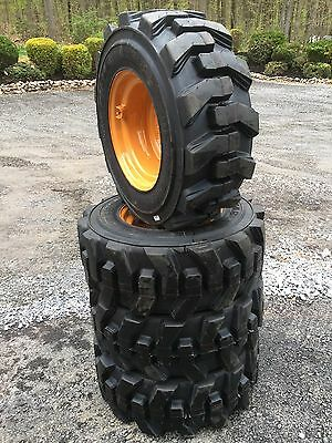 12-16.5 Carlisle Ultra Guard Skid Steer Tireswheelsrims For Case 1845c 12x16.5
