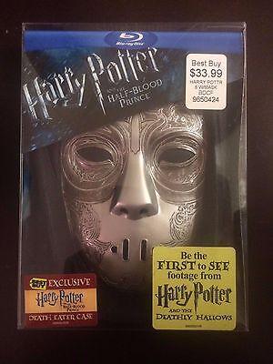 Harry Potter and the Half-Blood Prince Blu-Ray Death Eater Case NEW SEALED  comprar usado  Enviando para Brazil